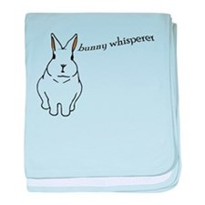 bunny whisperer Infant Blanket