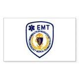 EMT Rectangle Stickers