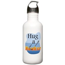 Hug a Hooker - Sports Water Bottle