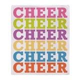 Cheer Throw Blanket