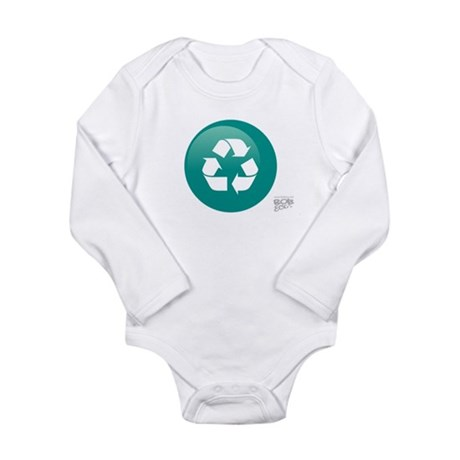 Recycle Long Sleeve Infant Bodysuit