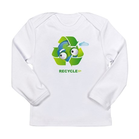 Recycle Long Sleeve Infant T-Shirt