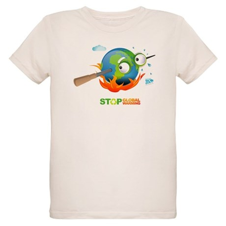 Earth Skewer Organic Kids T-Shirt