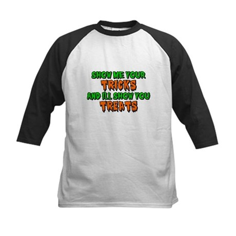 Show Me Your Tricks Kids Baseball Jersey