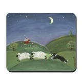 Cute Sheep herding Mousepad