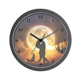 Unspoken Mermaid Wall Clock