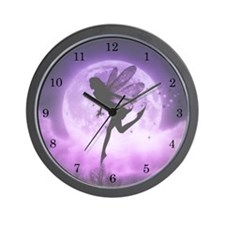 Seeking Serenity Fairy Wall Clock