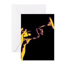 Jazz Trumpet Card (Pk of 10)