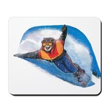 Snow Boarding Mousepad