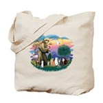 St Francis (ff)-7 Cats Tote Bag