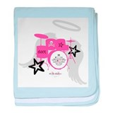 Pink Baby Drums Infant Blanket
