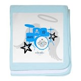 Blue Baby Drums Infant Blanket