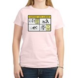 Hunting with Cheney Women's Pink T-Shirt