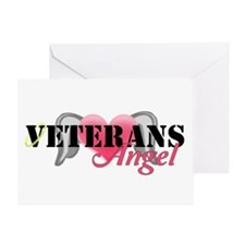 Veterans Angel Greeting Card