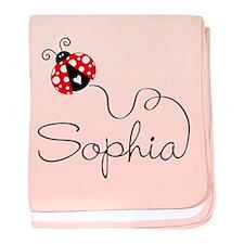 Ladybug Sophia Infant Blanket