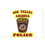 Oro Valley Police Postcards (Package of 8)