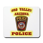 Oro Valley Police Mousepad