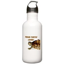 Proud Turtle Lover Water Bottle
