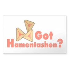 Got Hamentashen Rectangle Decal