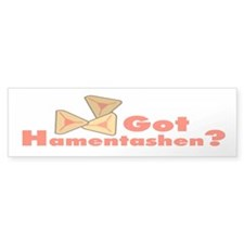 Got Hamentashen Bumper Bumper Sticker