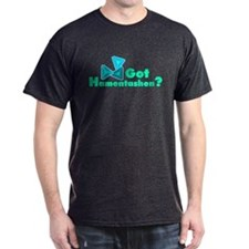 Got Hamentashen Black T-Shirt