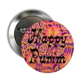 Happy Purim 2.25&quot; Button (100 pack)