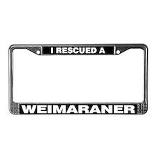 I Rescued a Weimaraner
