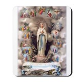 Our Lady of Lourdes Mousepad