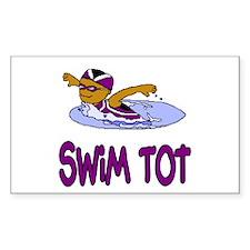 Swim Tot Emma Rectangle Sticker