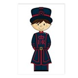 Royal Beefeater Guard Postcard (Pk of 8)