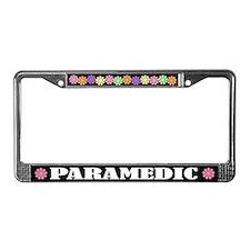 Paramedic License Plate Frame