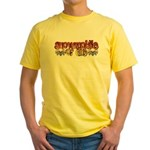 Snowmobile or Die Yellow T-Shirt