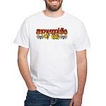 Snowmobile or Die White T-Shirt