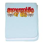 Snowmobile or Die Infant Blanket