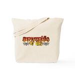 Snowmobile or Die Tote Bag