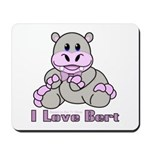 Bert the Hippo Mousepad