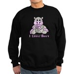 Bert the Hippo Sweatshirt (dark)