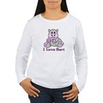 Bert the Hippo Women's Long Sleeve T-Shirt