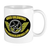 Naked GoldWings Coffee Mug