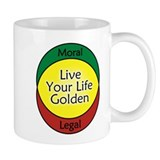 Live Golden Coffee Mug