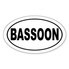 Bassoon Music Decal
