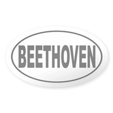 Beethoven Composer Decal