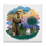 St. Fran. (FF) - Ragdoll (LynxPt) Tile Coaster