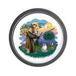 St. Fran. (FF) - Ragdoll (LynxPt) Wall Clock