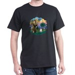St. Fran. (FF) - Ragdoll (LynxPt) Dark T-Shirt