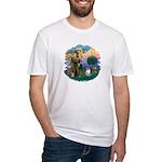 St. Fran. (FF) - Ragdoll (LynxPt) Fitted T-Shirt