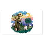 St. Fran. (FF) - Ragdoll (LynxPt) Sticker (Rectang