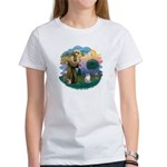 St. Fran. (FF) - Ragdoll (LynxPt) Women's T-Shirt