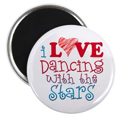 I Love Dancing wtih the Stars 2.25&quot; Magnet (100 pa