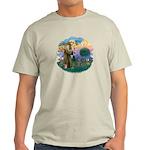 St Fran (ff) - Russian Blue (#2) Light T-Shirt